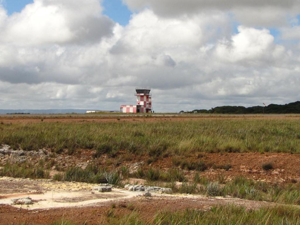 wieża na lotnisku