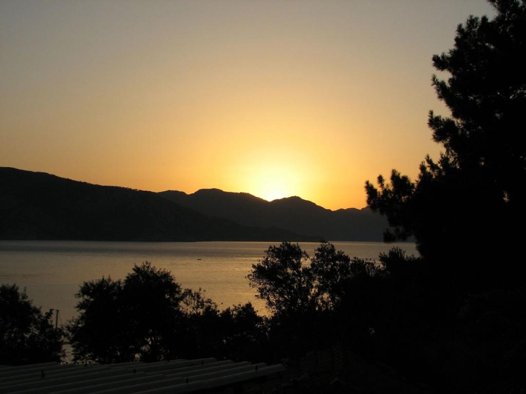 Wschód słońca/ foto: Danuta Baranowska