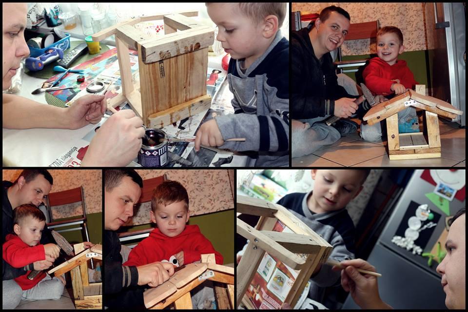 Karmnik - pocz¦ůtek rodzinnej przygody z drewnem