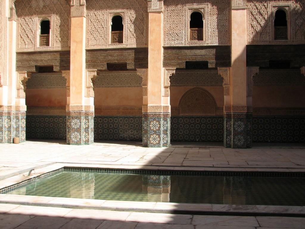 basen do ablucji w medresie-szkole koranicznej
