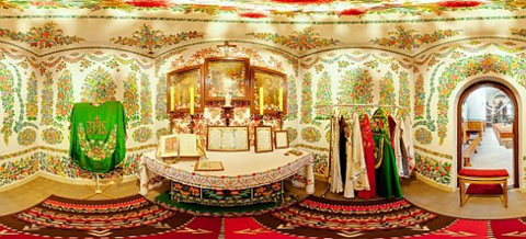 Kościół w Zalipiu/ źródło: www.kurierdabrowski.pl