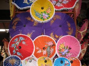 jedwabne parasolki