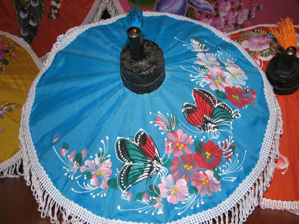 nylonowy parasol