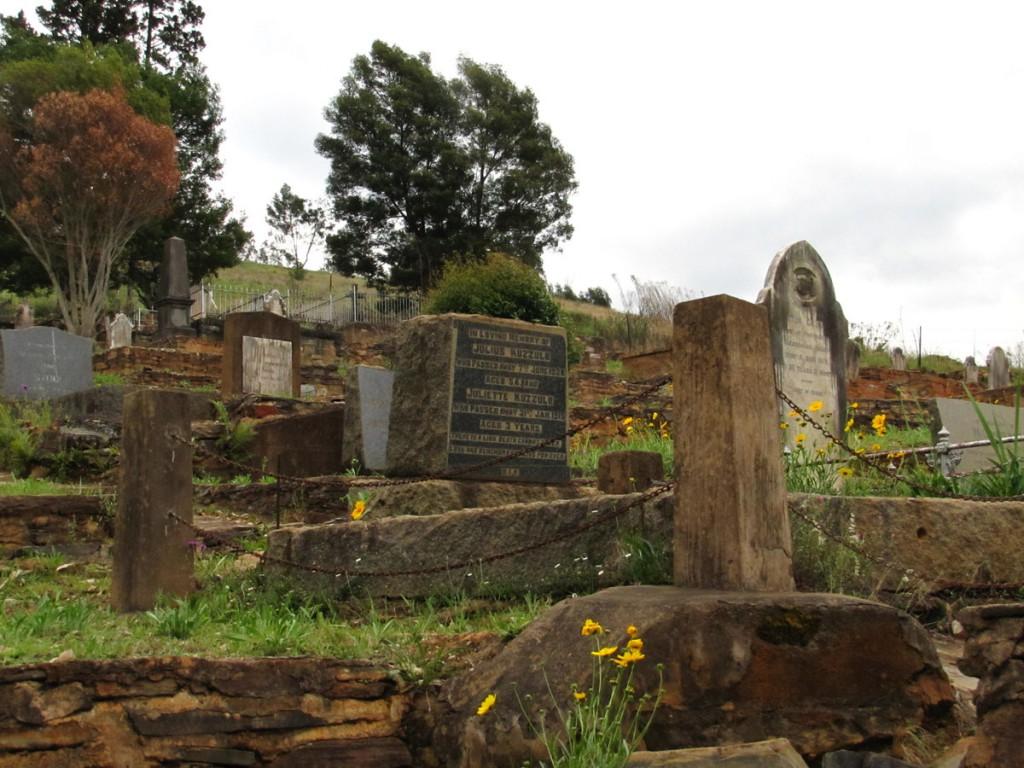 Cmentarz poszukiwaczy złota w Pilgrim's Rest w Peru