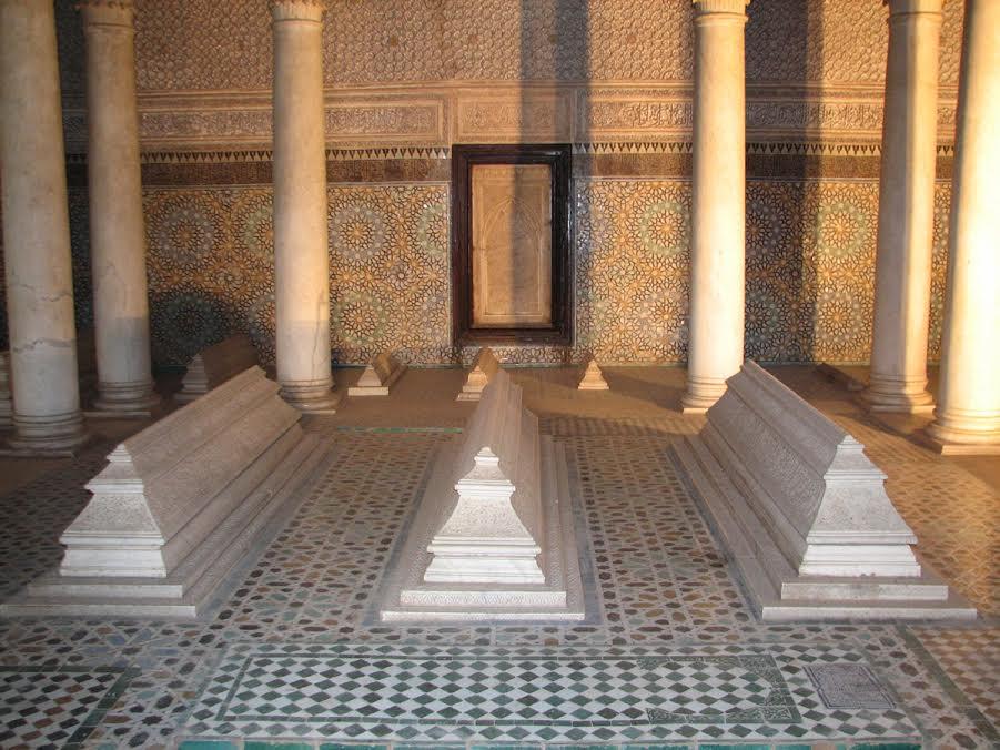 Grobowce Sadytów w Maroku