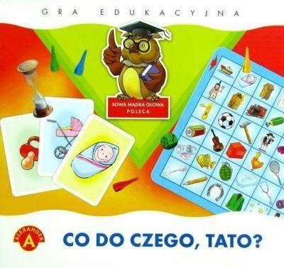 """""""CO DO CZEGO, TATO"""" - gra edukacyjna, recenzja"""