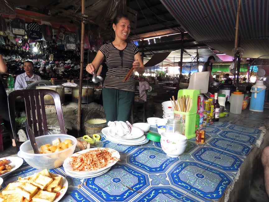 Pyszności z knajpki w Sajgonie