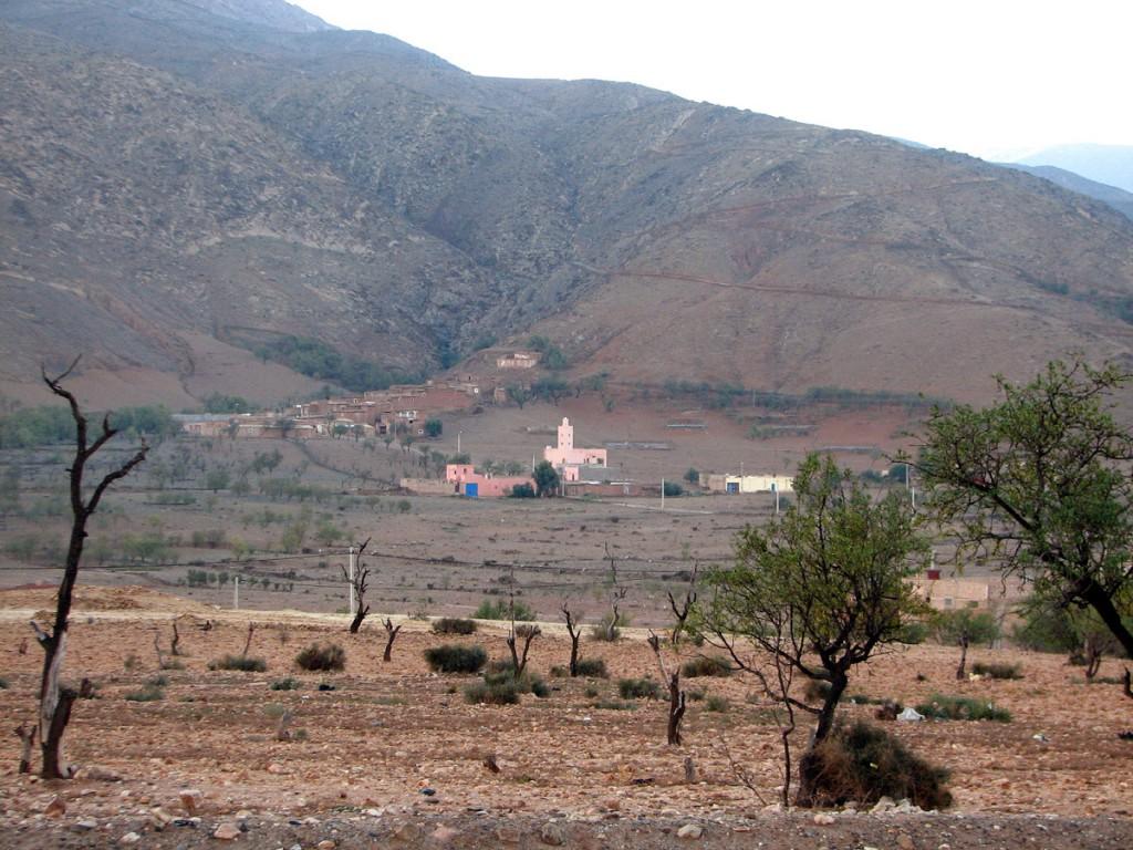 przedmieścia Ifrane