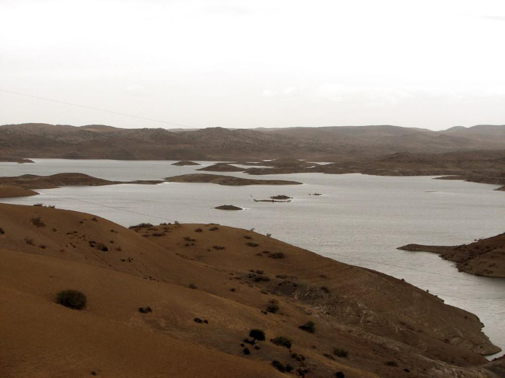 rozlewisko rzeki Um er Rabija