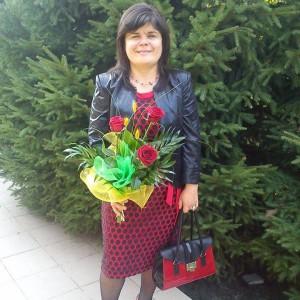 """Beata Grzywacz - autorka projektu """"Tarnobrzeskie kobiety"""" / źródło: prywatna galeria autorki"""