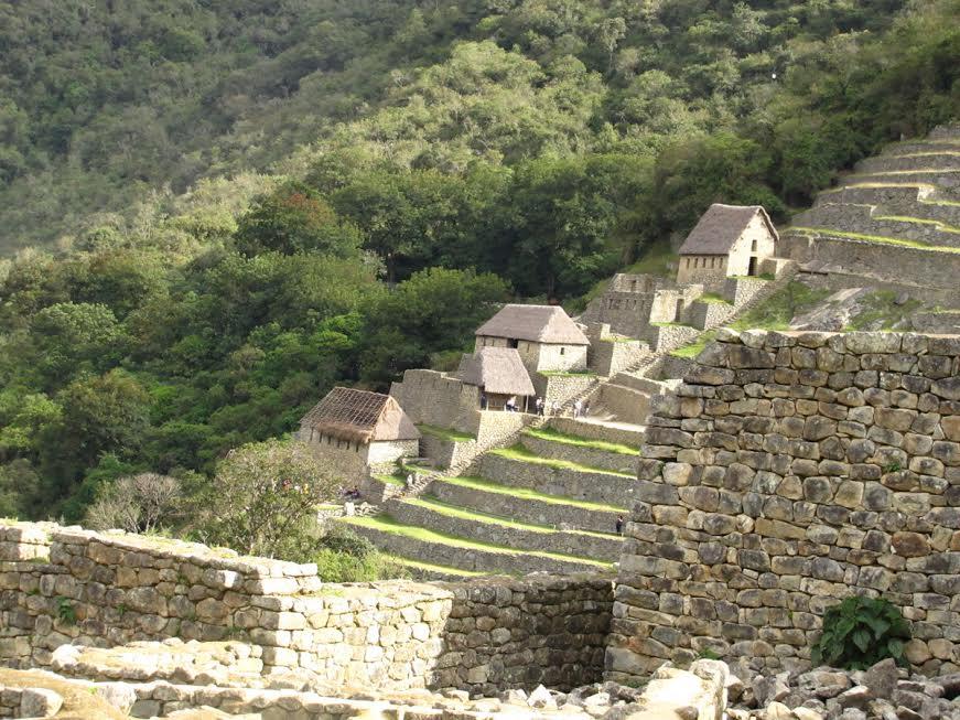 Domy mieszkalne w Macchu Pichu