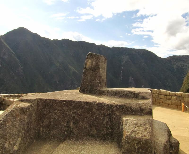Intihuatana w Machu Picchu