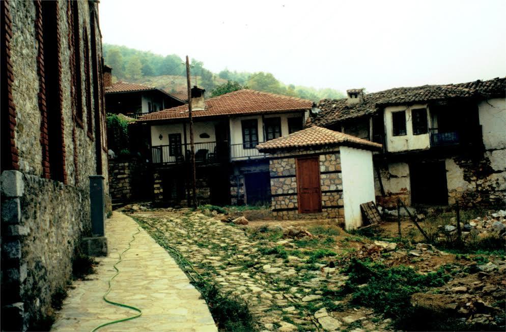 wieś na płaskowyżu Lasithi