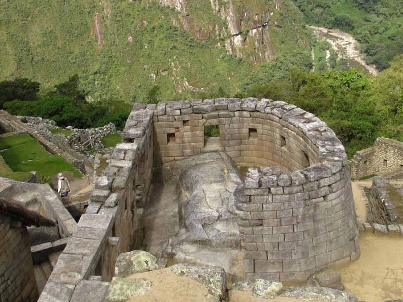 Świątynia Słońca w Macchu Pichu