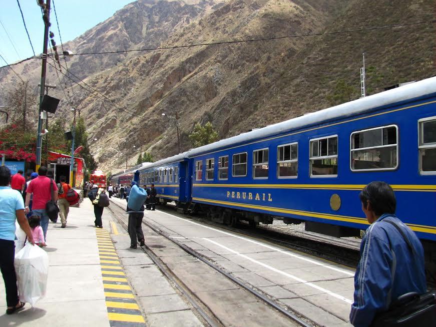 Pociąg do Macchu Pichu