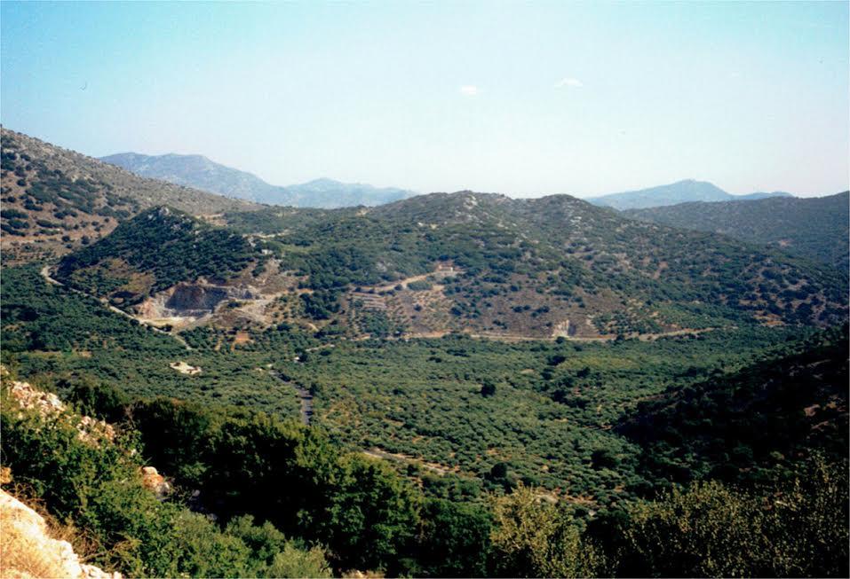 Kreta widok na góry