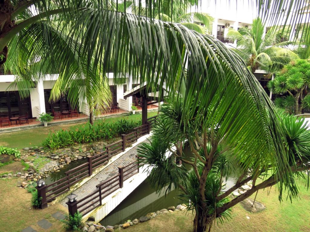 Hotelowy ogród