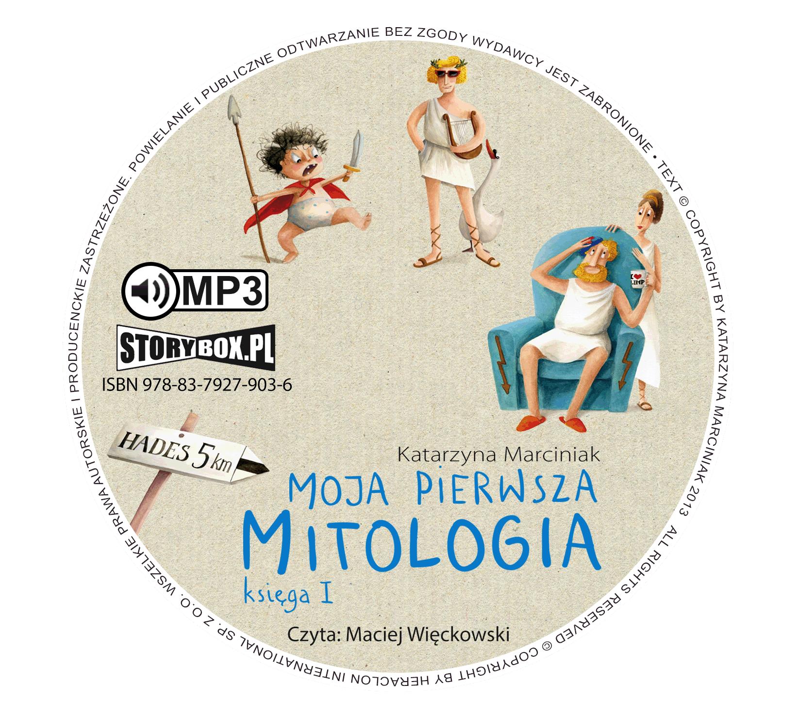 """POCZYTAJ MI NA UCHO: """"Moja pierwsza mitologia. Księga 1"""" Katarzyna Marciniak - audiobook"""