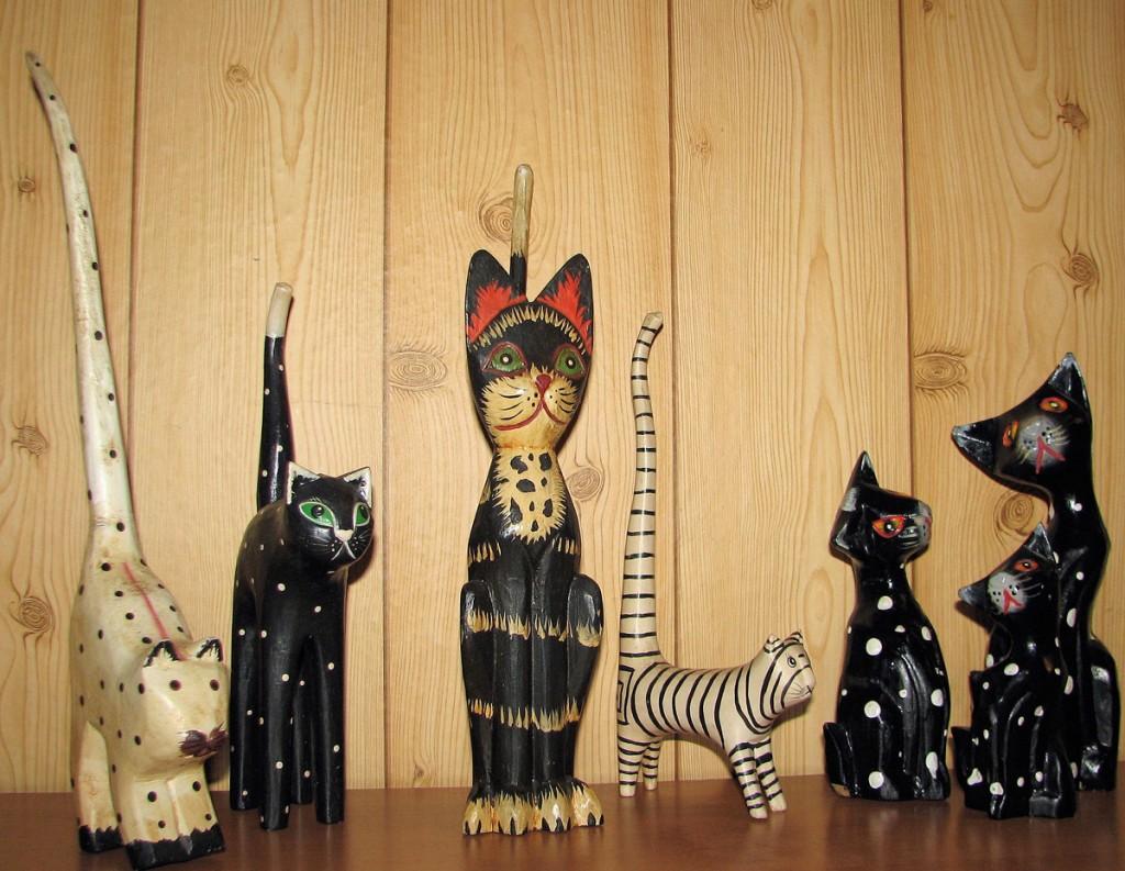 koty z drewna Balsa