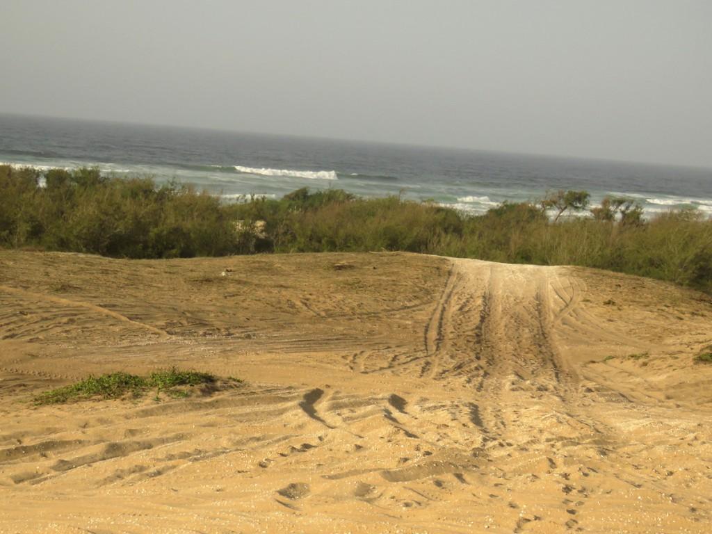 przez piaski rajdu