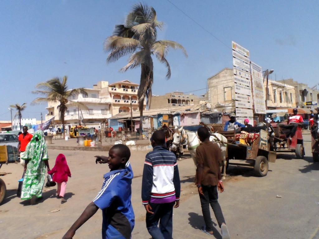 ulice Dakaru
