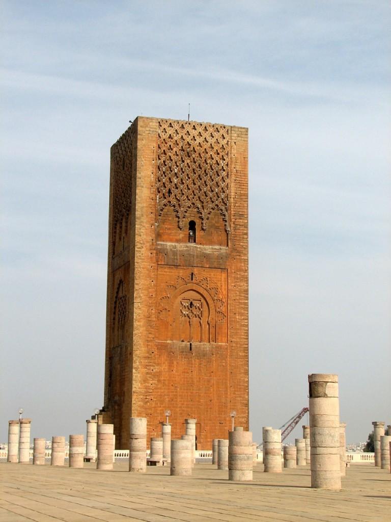 niedokończony minaret