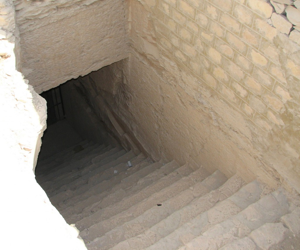 Wejście do grobowca Tutanchamona