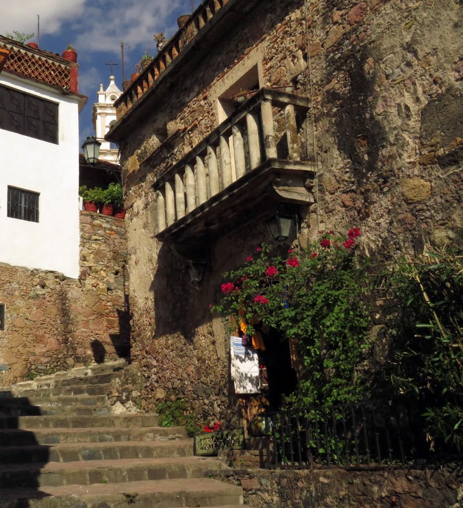 zaułek w Taxco