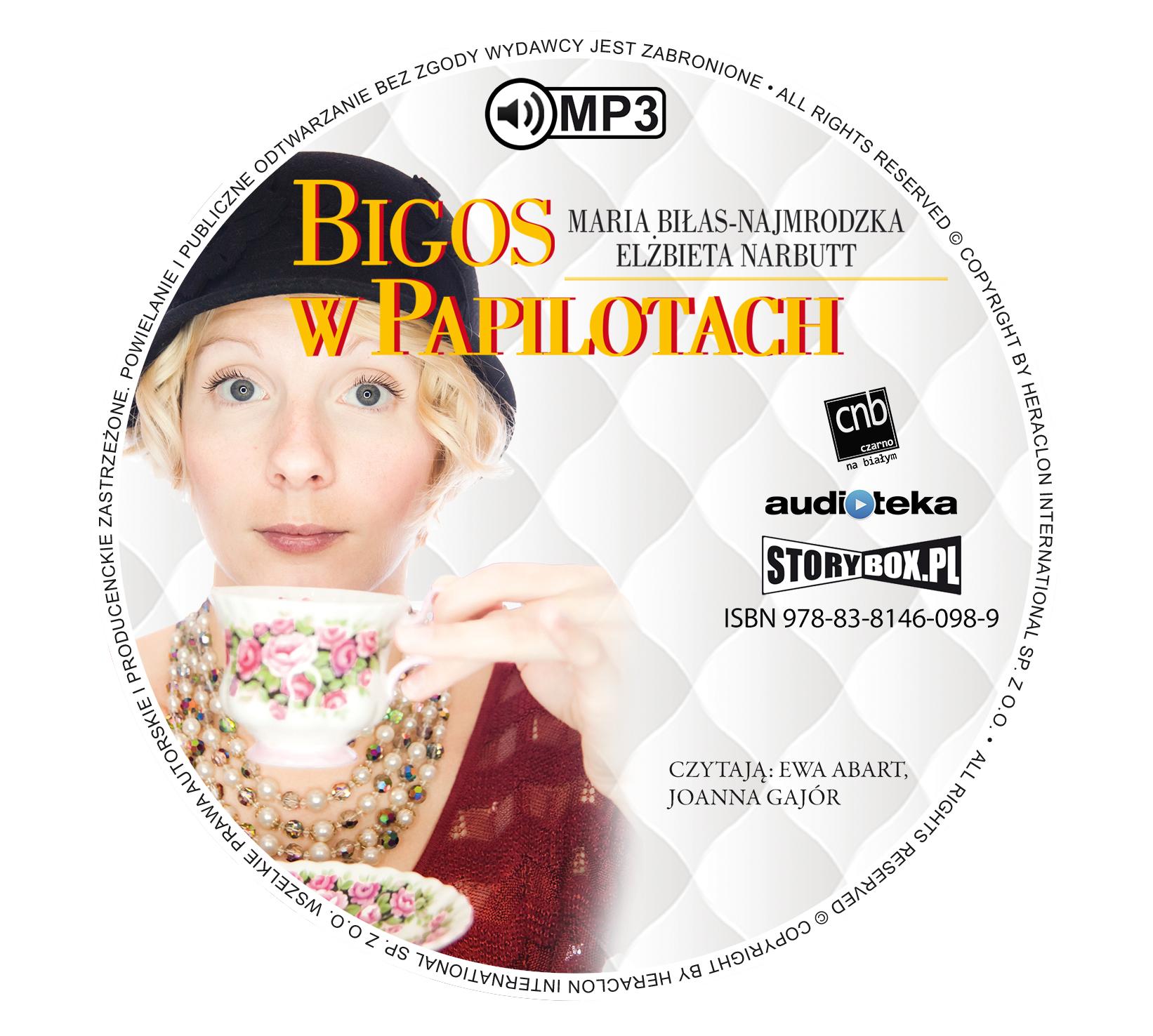 """POCZYTAJ MI NA UCHO: """"Bigos w papilotach"""" Maria Biłas-Najmrodzka, Elżbieta Narbutt - recenzja audiobooka"""