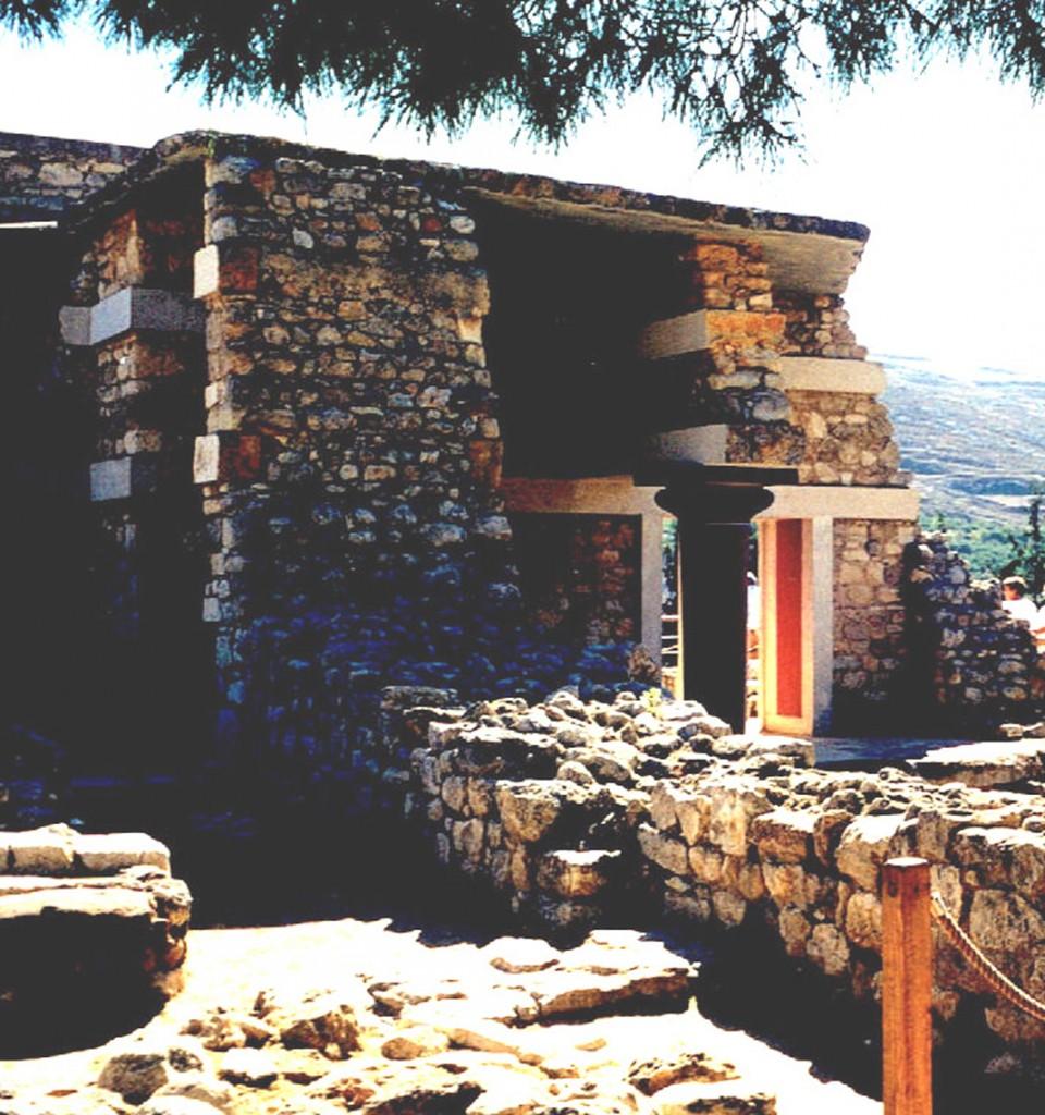 Knossos ruiny3