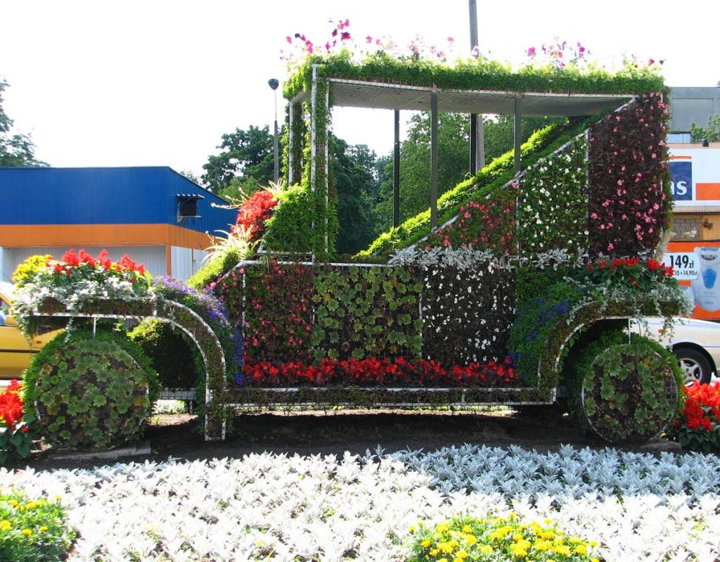 kwiatowy kabriolet