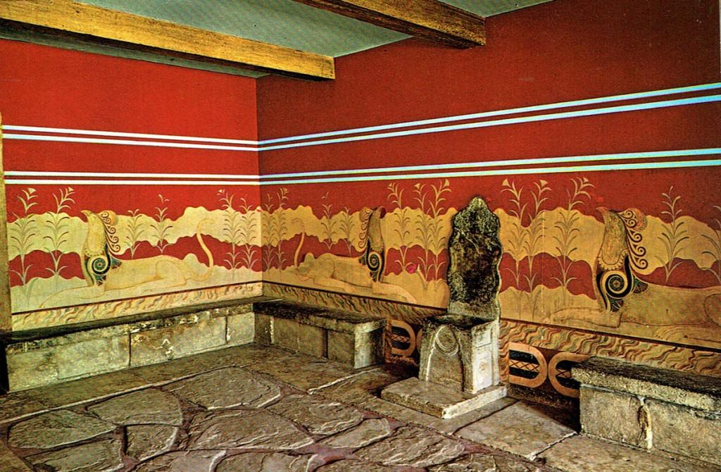 tron w sali tronowej