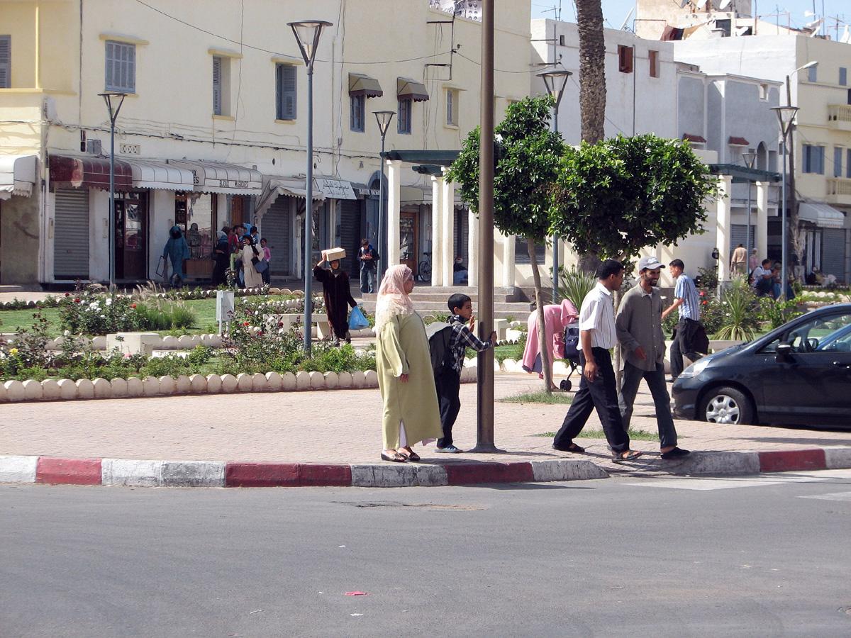 ulice Casablanci