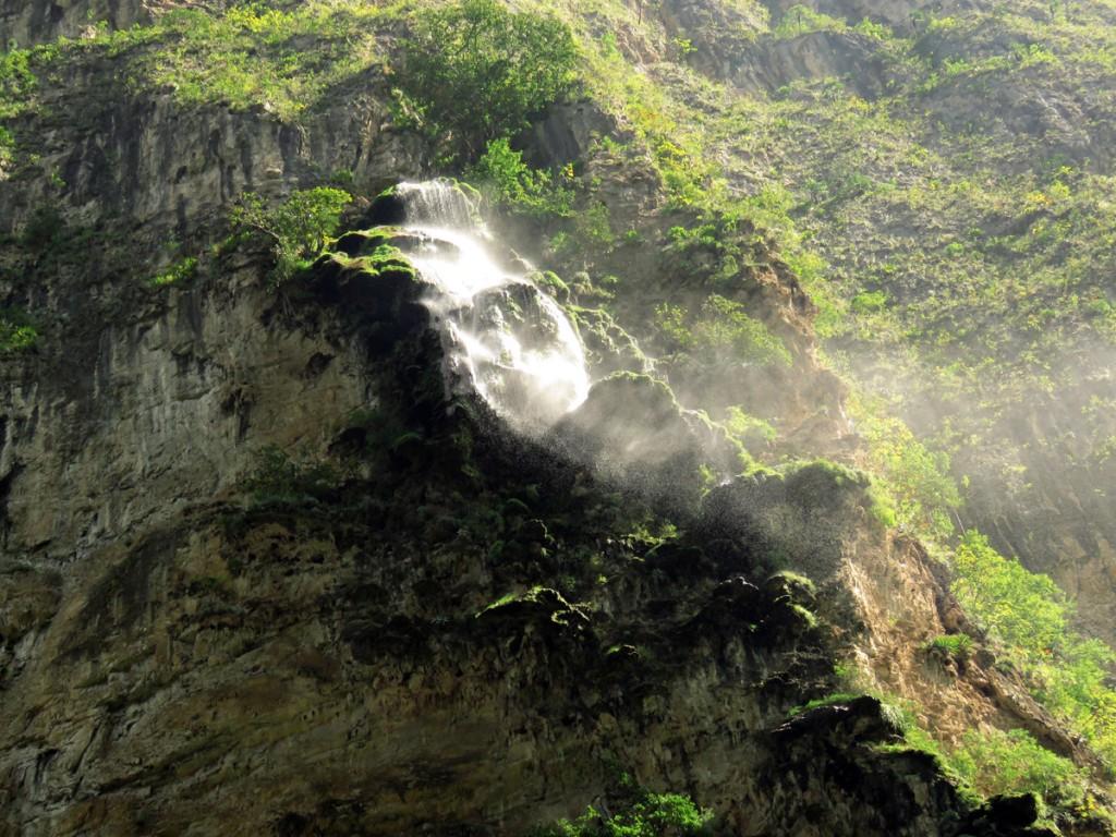 Wodospad w Kanionie Sumidero