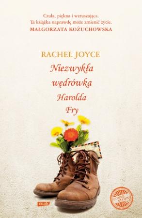 """SZPIEG Z KSIĘGARNI NADAJE: """"Niezwykła wędrówka Harolda Fry"""", Rachel Joyce"""