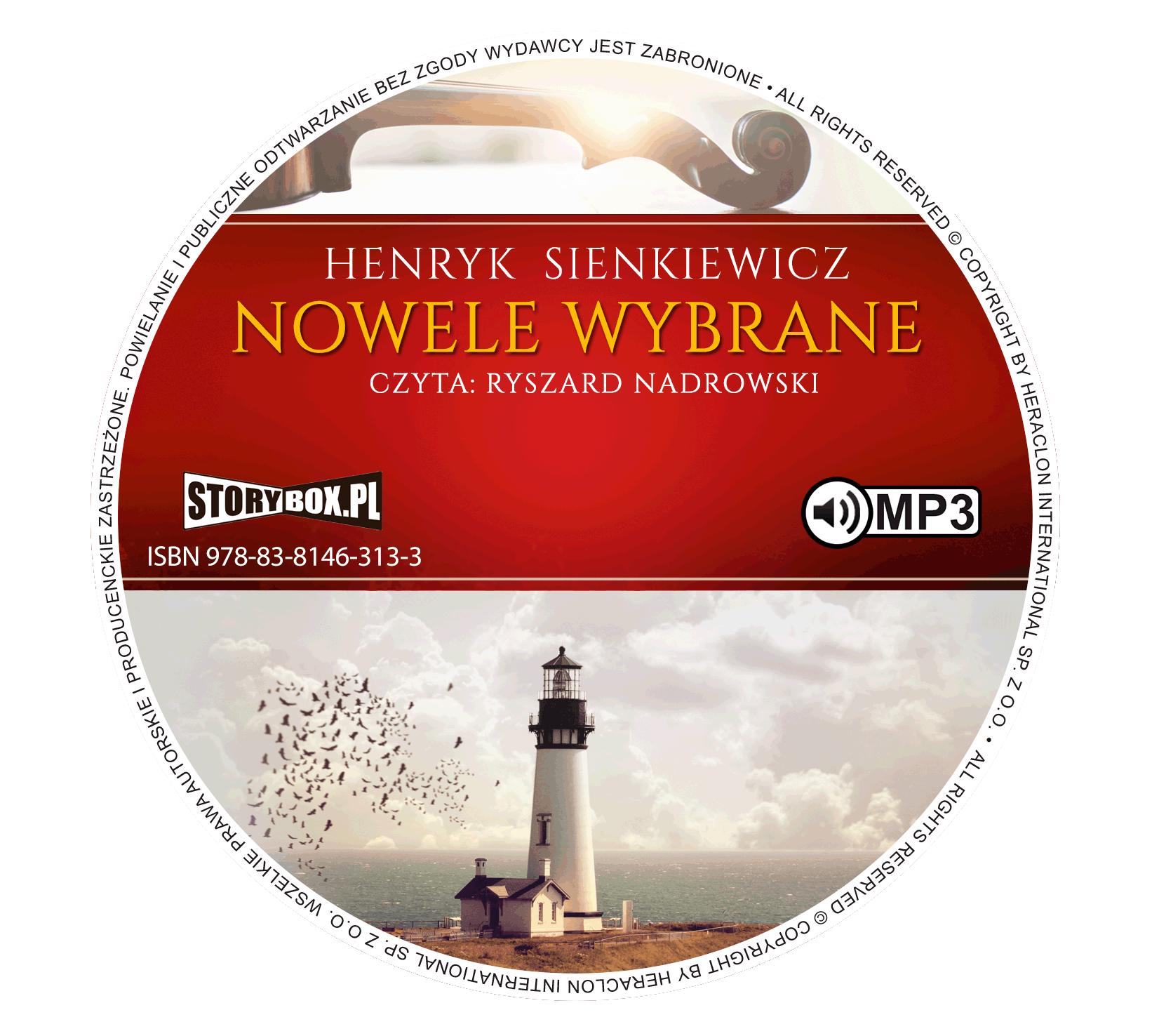 """POCZYTAJ MI NA UCHO: """"Nowele wybrane"""" Henryk Sienkiewicz - recenzja audiobooka"""