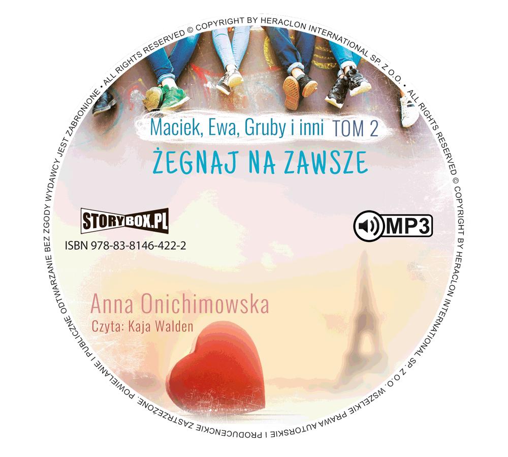 """POCZYTAJ MI NA UCHO: Niełatwa decyzja – recenzja audiobooka """"Żegnaj na zawsze"""" Anny Onichimowskiej"""