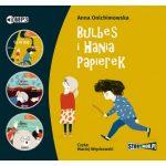 """POCZYTAJ MI NA UCHO: W świecie dziecięcych emocji - cykl """"Bulbes i Hania Papierek"""" Anna Onichimowska - recenzja audiobooka"""