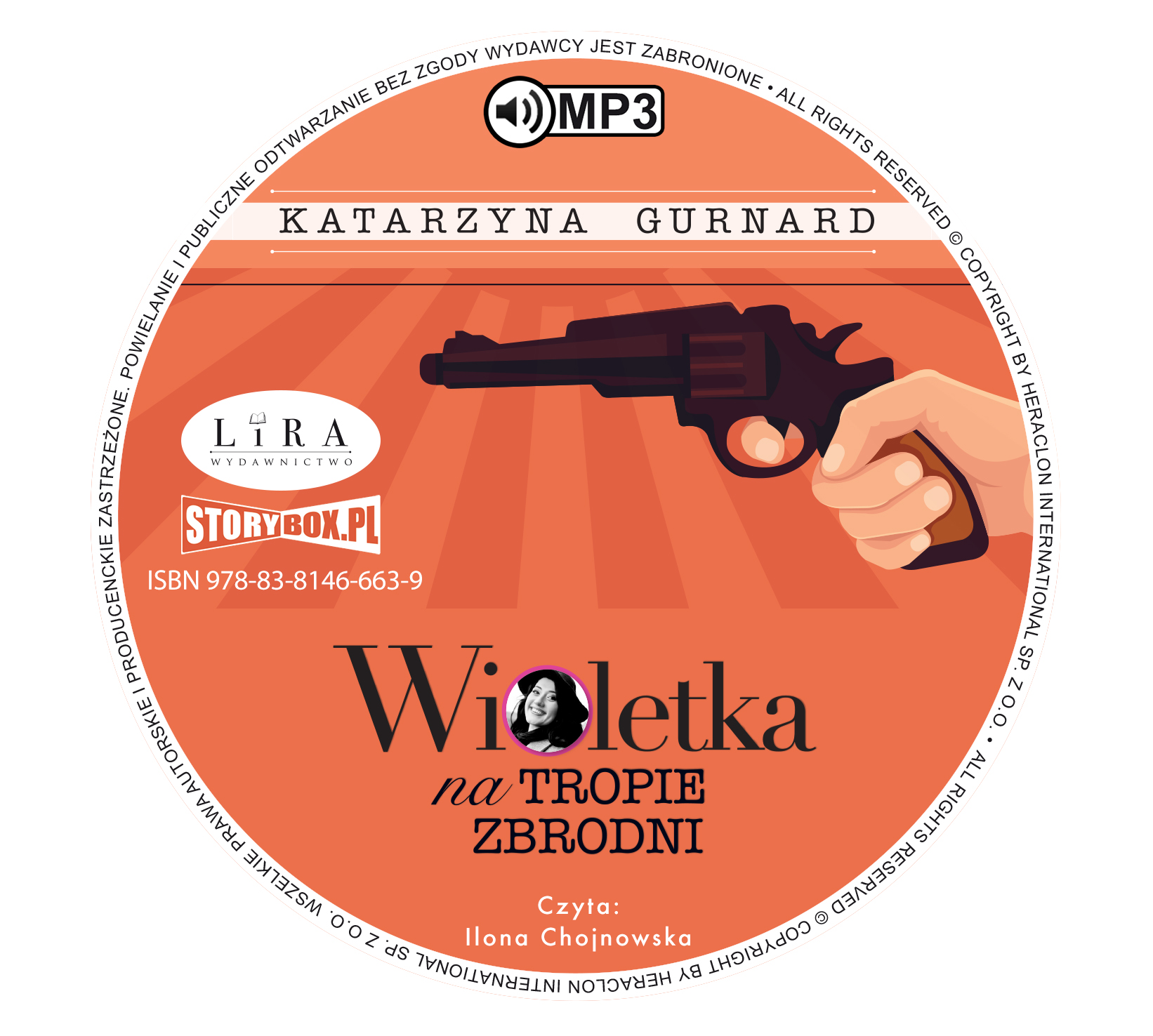 """POCZYTAJ MI NA UCHO: """"Wioletka na tropie zbrodni"""" Katarzyna Gurnard - recenzja audiobooka"""