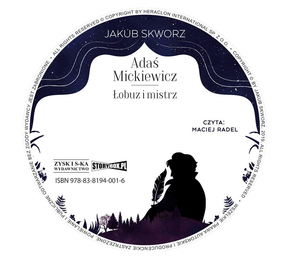 """POCZYTAJ MI NA UCHO: """"Adaś Mickiewicz. Łobuz i mistrz"""" J. Skworz - recenzja audiobooka"""