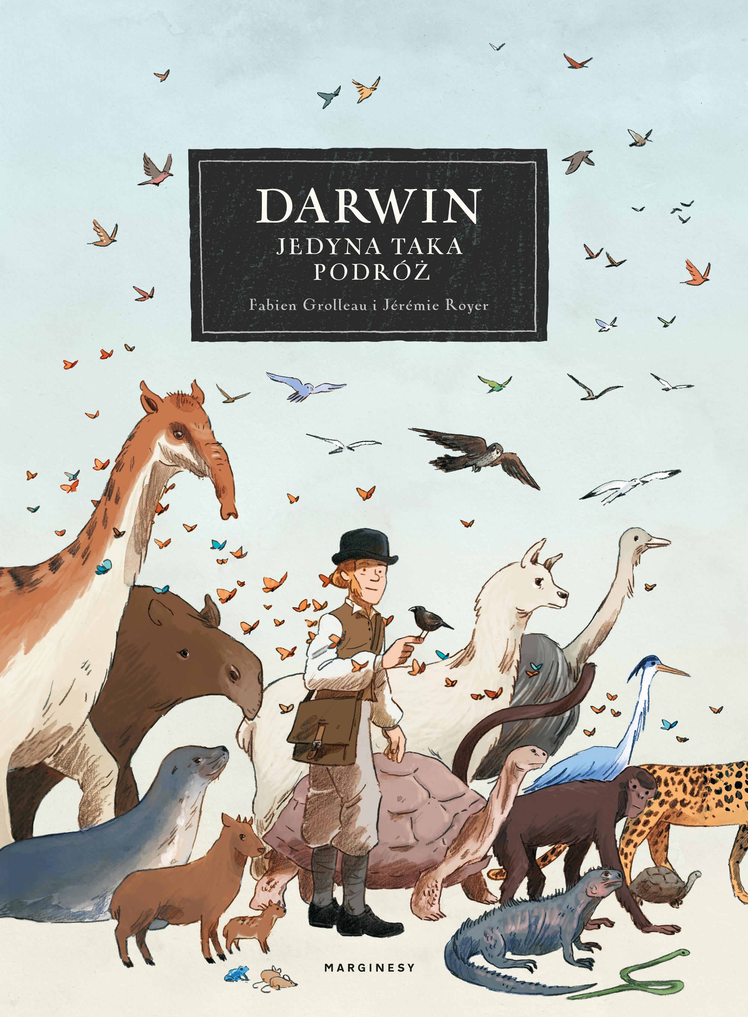 """SZPIEG W KSIĘGARNI: """"DARWIN. JEDYNA TAKA PODRÓŻ"""" Fabien Grolleau, Jeremie Royer - recenzja komiksu"""
