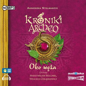 """POCZYTAJ MI NA UCHO: """"Oko Węża. Kroniki Archeo"""" Agnieszka Stelmaszyk – recenzja audiobooka"""