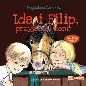 """POCZYTAJ MI NA UCHO: """"Ida i Filip, przyjaciel koni"""" Magdalena Zarębska - recenzja audiobooka"""