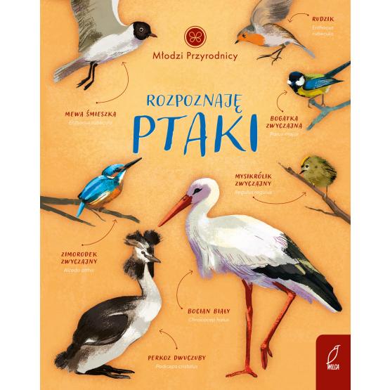 """SZPIEG W KSIĘGARNI: """"Rozpoznaję ptaki. Młodzi przyrodnicy"""" Patrycja Zarawska, Aleksandra Szpunar - recenzja"""