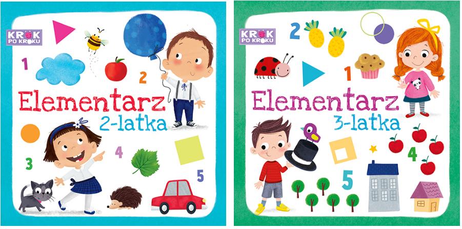 LOGOPEDA RADZI: Elementarze dla 2 i 3 latka - edukacja dla najmłodszych