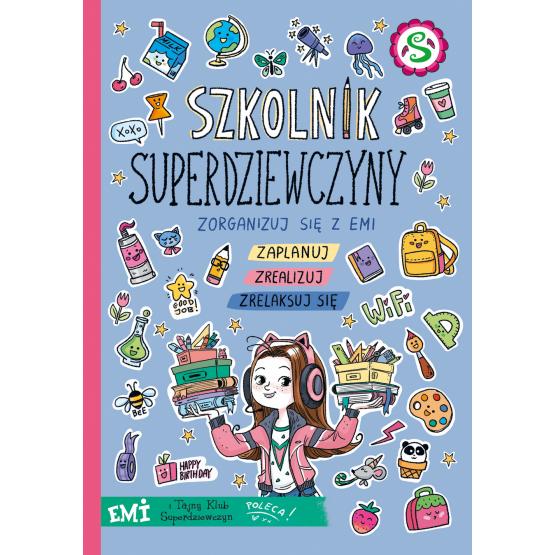 """SZPIEG W KSIĘGARNI: """"Szkolnik Superdziewczyny"""" Agnieszka Mielech - recenzja premierowa"""