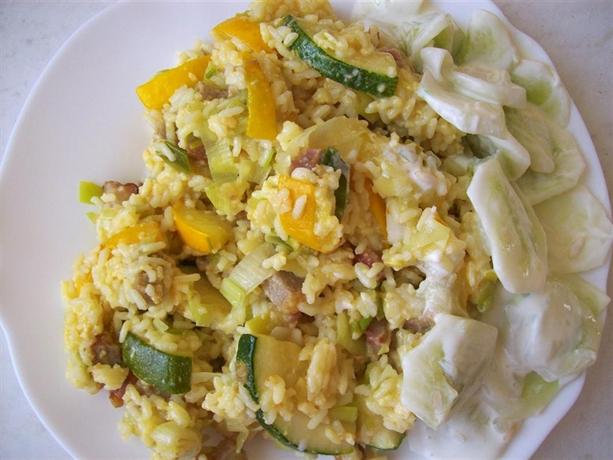 PORA NA PORA, czyli ryż w zieleniach i żółciach