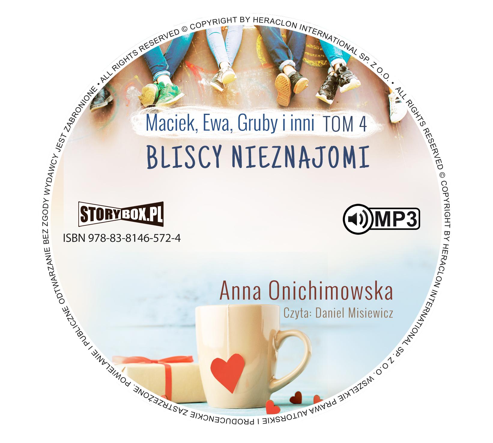 "POCZYTAJ MI NA UCHO: ""BLISCY NIEZNAJOMI"", Anna Onichimowska"