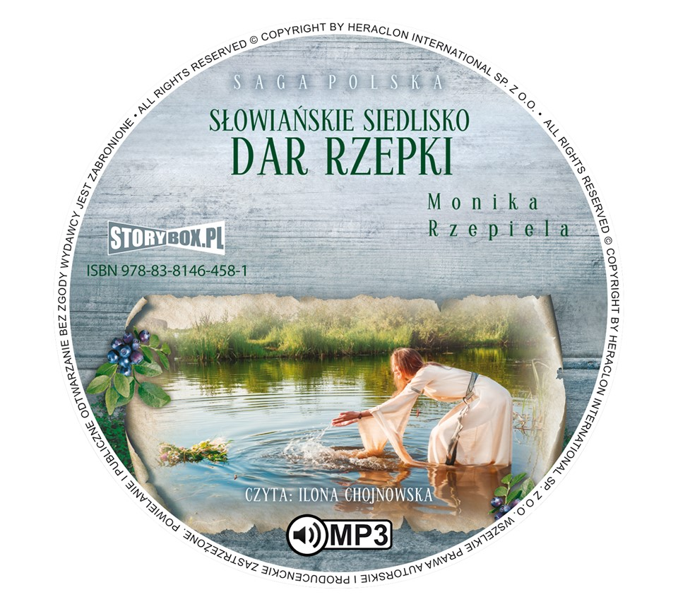 """POCZYTAJ MI NA UCHO: """"DAR RZEPKI"""", Monika Rzepiela - recenzja audiobooka"""