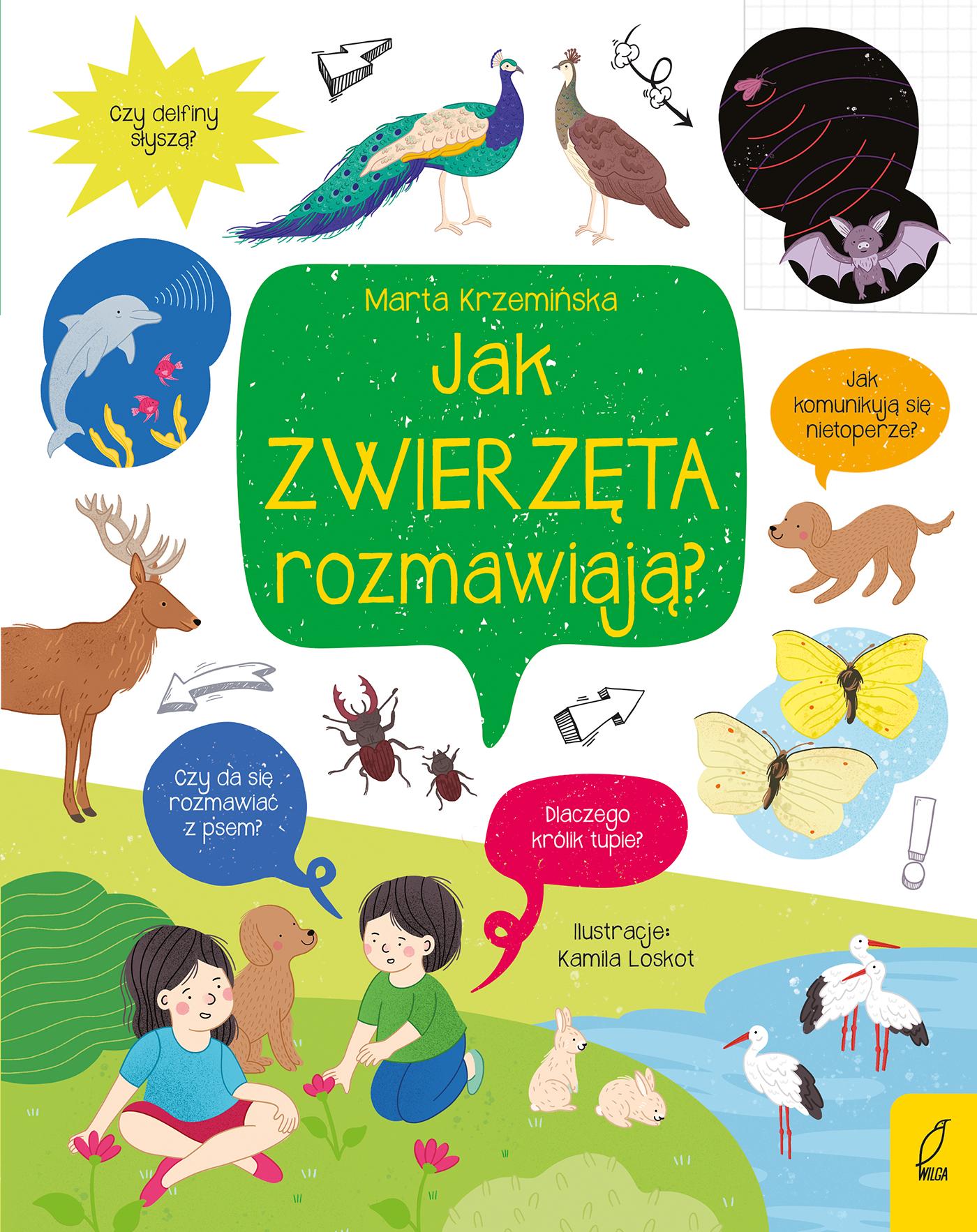 """SZPIEG W KSIĘGARNI: """"Jak zwierzęta rozmawiają?"""" Marta Krzemińska - recenzja"""